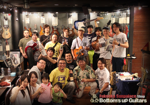【Freedom C.G.R. Night Party in 福岡 〜フリーダム創業社長 深野真と楽しく語る夕べ〜 Presented by Bottom's Up Guitars】