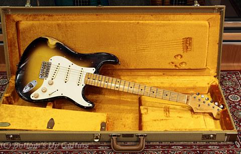 Fender USA Master Builder Jason Smith Relic Strato 1957 Sunburst
