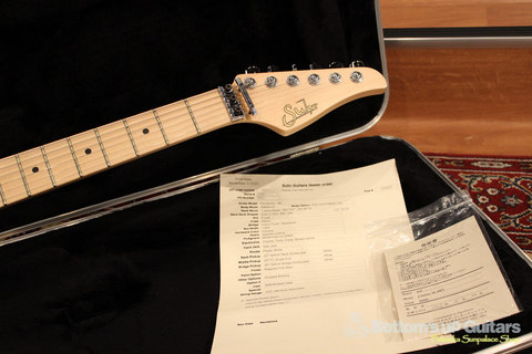 Suhr (Made in USA - JST) 正規輸入品・セミオーダーJ S6 H-S-H Magenta Pink