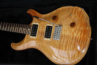 Vintage PRS Custom in Vintage Yellow on PRS BOOK
