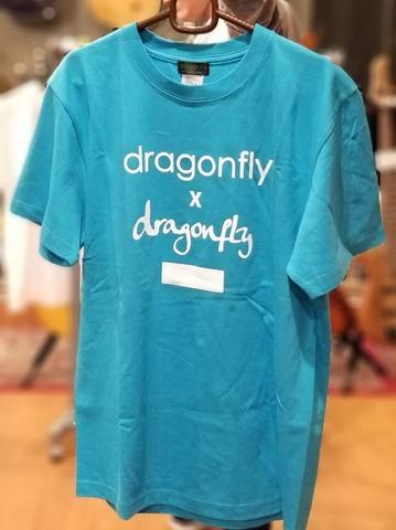 ☆『my dragonfly T-シャツ』(シリアルナンバーをその場でスタンプ!)の販売も急遽決定!