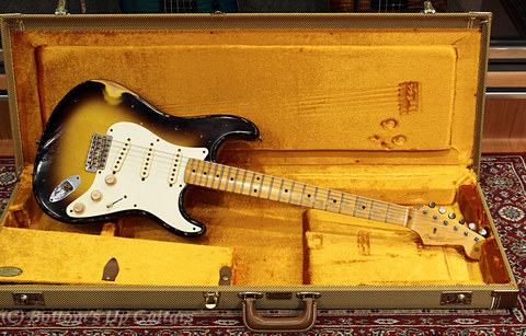 Fender USA Master Builder Jason Smith Relic Strato 1957 Sunburst