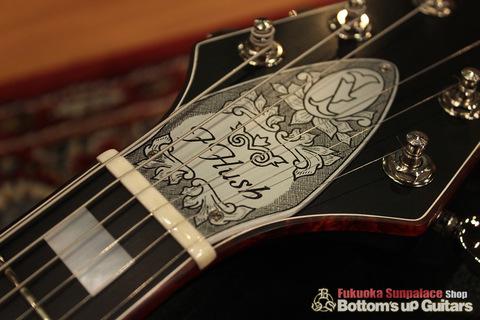 IHush_FV_SASORI_Head.jpg IHush GuitarsのフライングVタイプ 蠍彫金