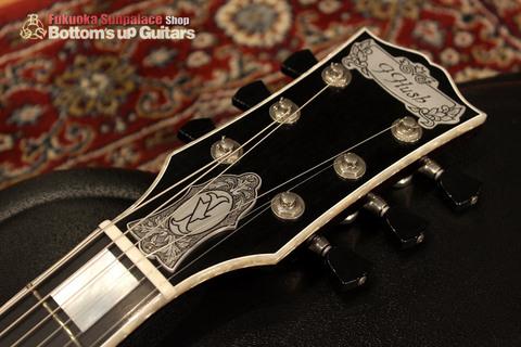 IHush_LP_RONIN_Head.jpg IHush Guitarsのレスポールタイプ 浪人彫金
