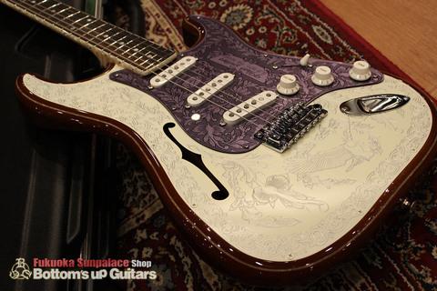 IHush_ST_Eagle_Top02.jpg IHush Guitarsのストラトタイプ エーグル彫金