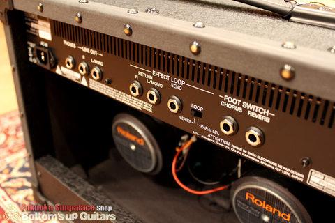 新製品! Roland JC-22 ジャズコの最新機 22W 2発入りのギターアンプ 新入荷!