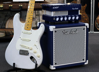 Two-Rock EXO-15 with Fender Eric Johnson Stratocaster